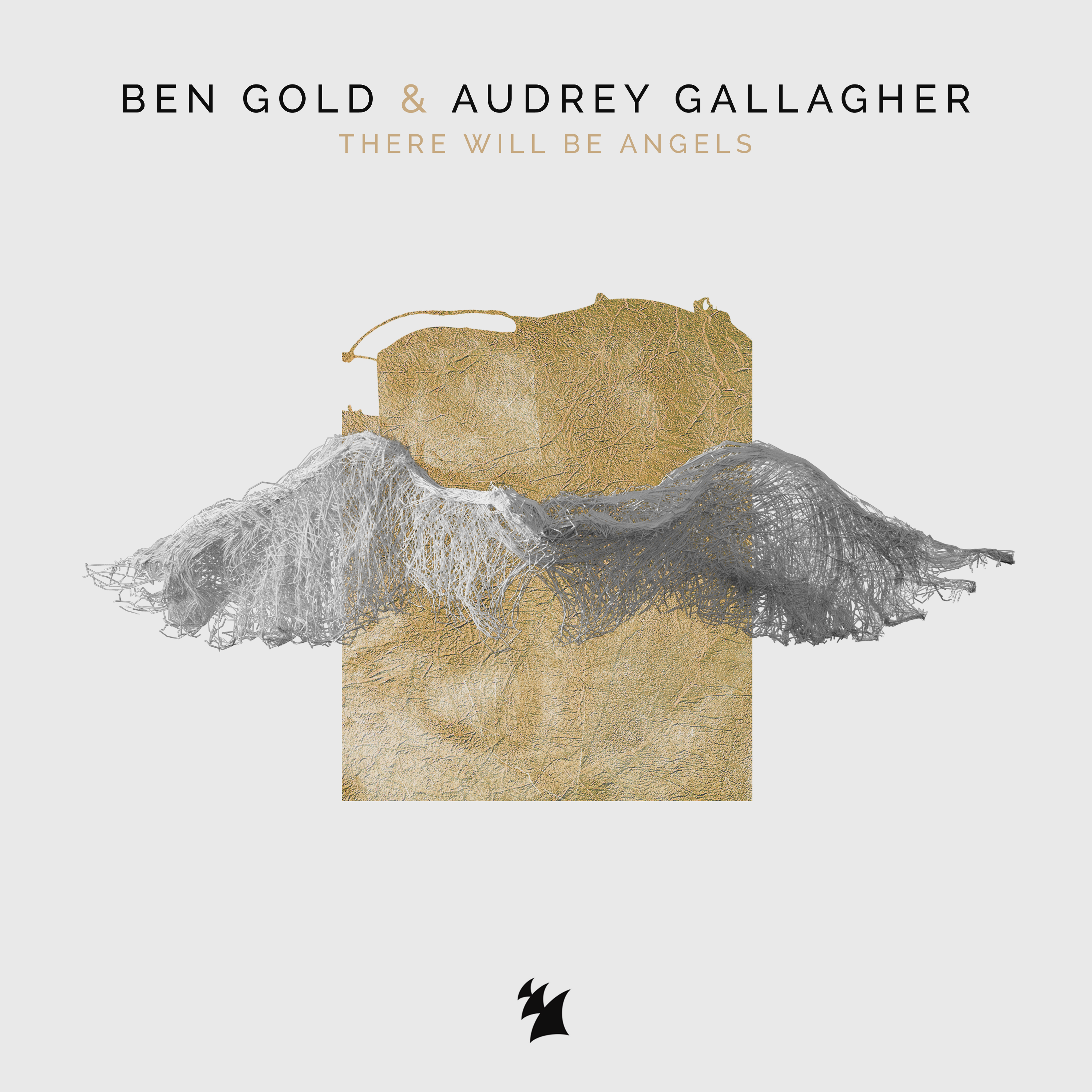 BEN GOLD & AUDREY GALLAGHER THERE WILL BE ANGELS COVER ART